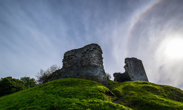Llandovery Castle, Wales