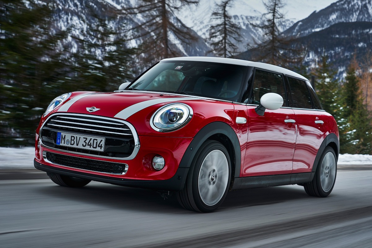 Red 2017 Mini Cooper Automatic
