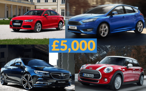 Best Used Cars Under £5,000