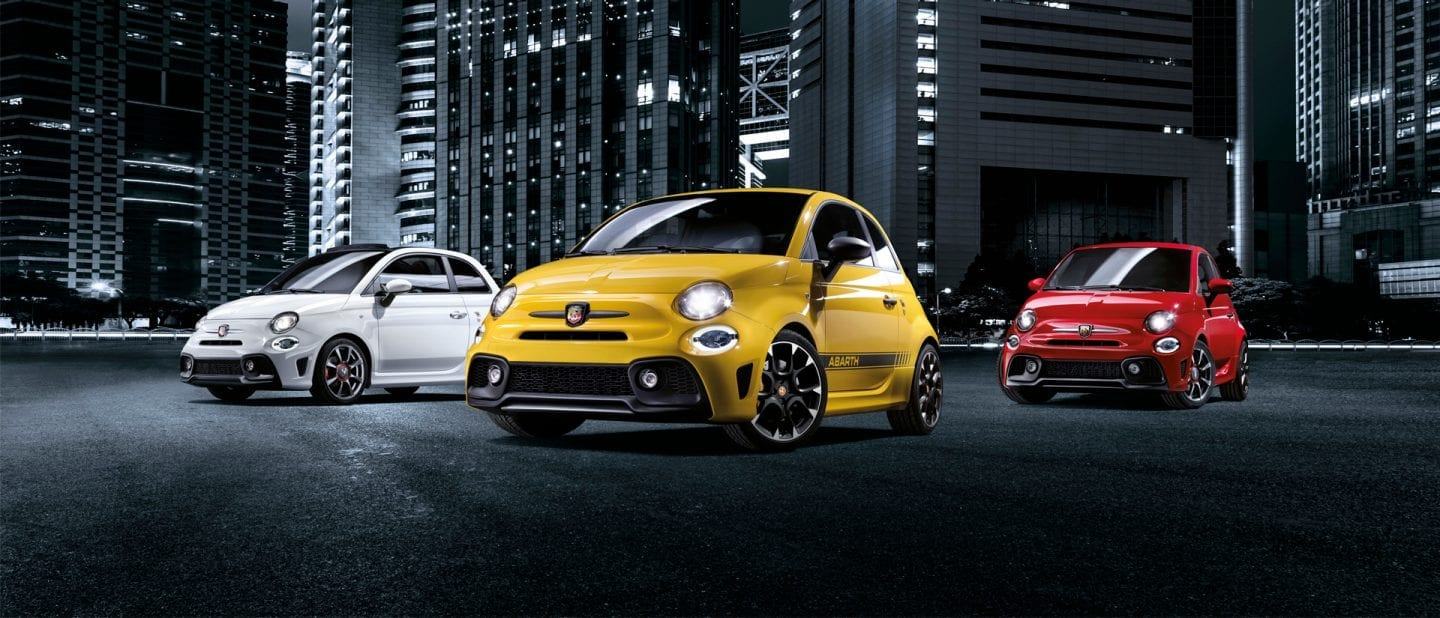 Abarth range on Finance