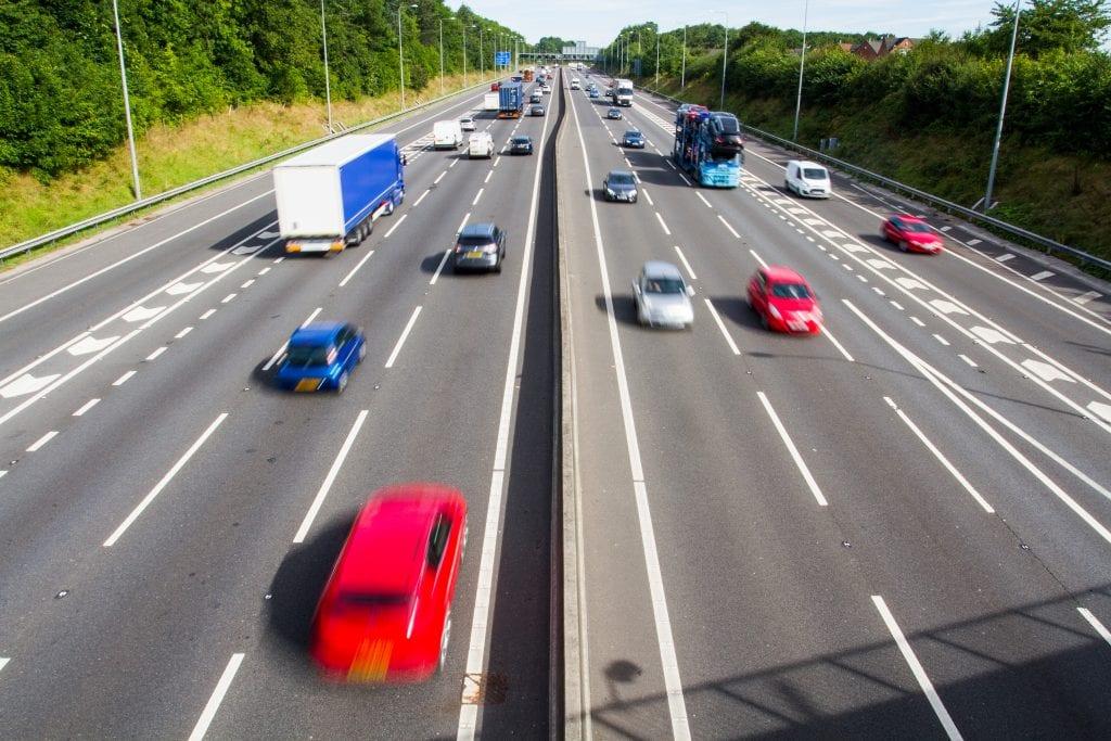 cars speeding