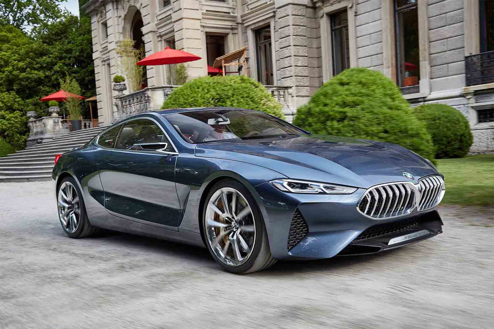 BMW 8 Series Concept Car 2018
