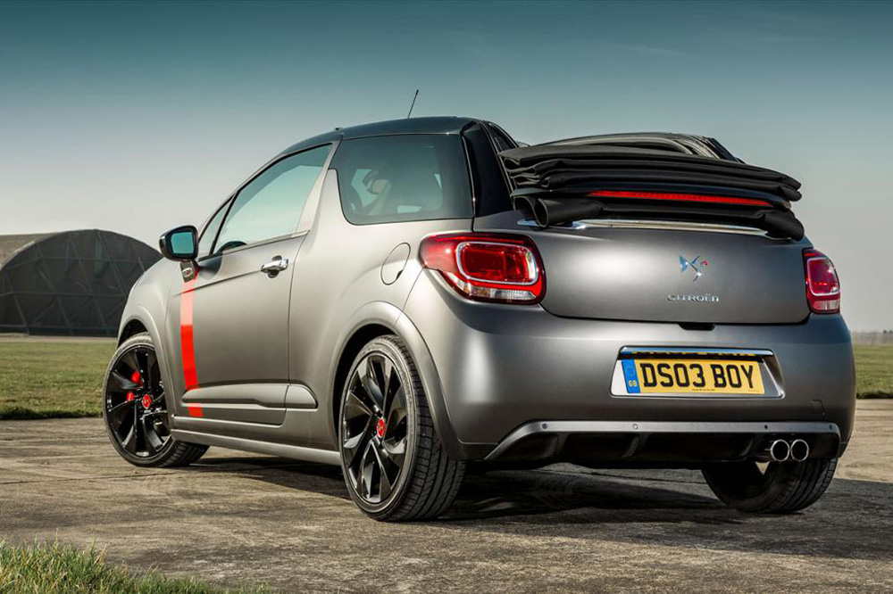 Grey Citroen DS3 Cabrio Convertible