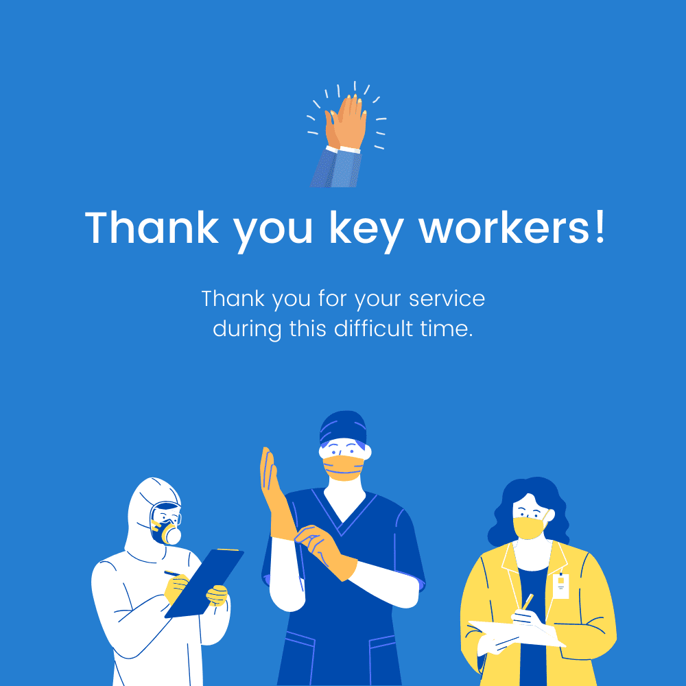 covid-19 thank you key workers