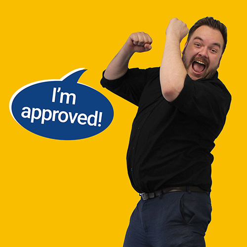 Man approved for car finance
