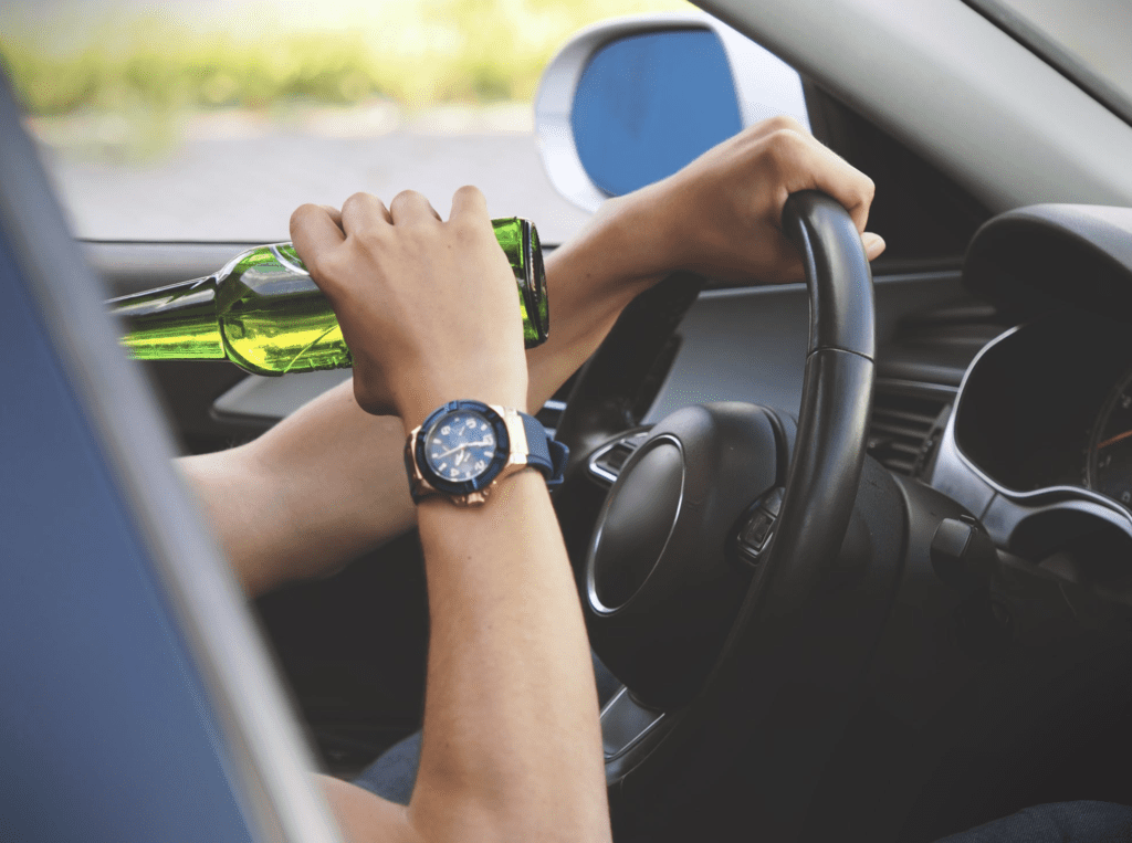 Driving with a Beer