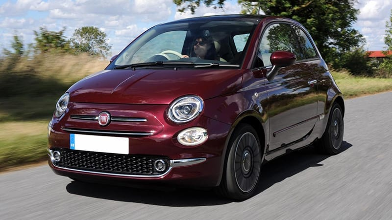 fiat 500 - cheapest cars to insure 2019