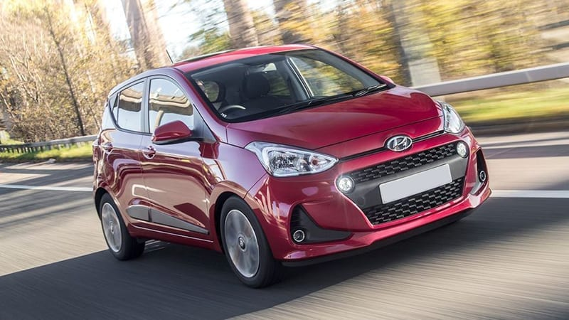 hyundai i10 - cheapest cars to insure 2019