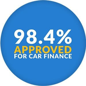 refused car finance approval rating