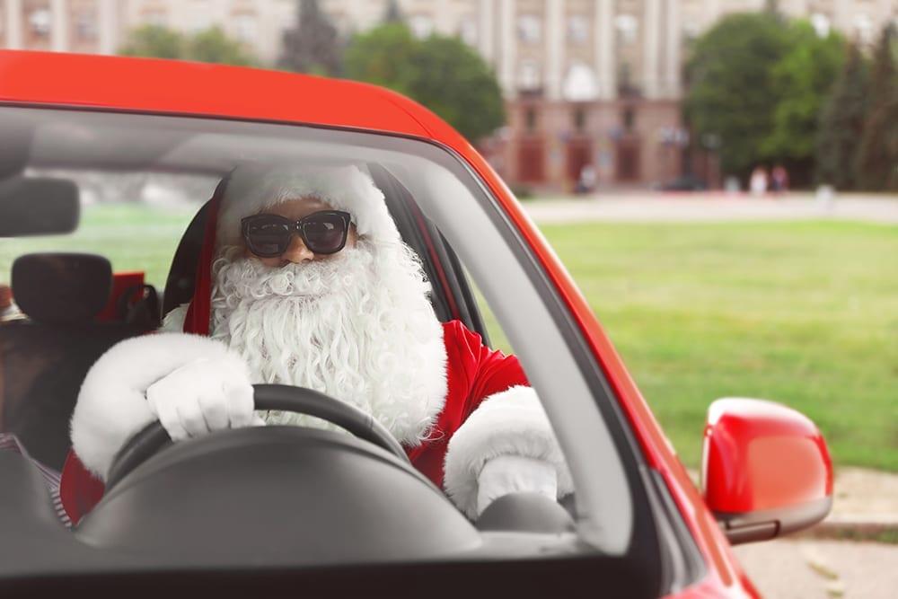 santa driving | refused car finance