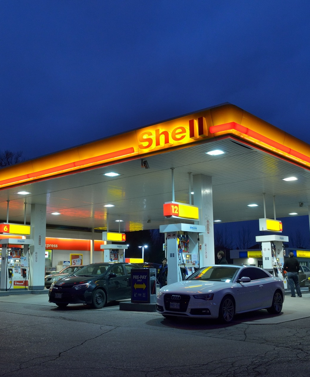 A Shell Garage petrol station