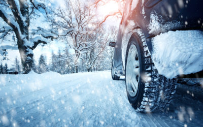 How to drive safely in snow and ice this winter