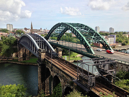 Picture of Wearside Bridge in Sunderland