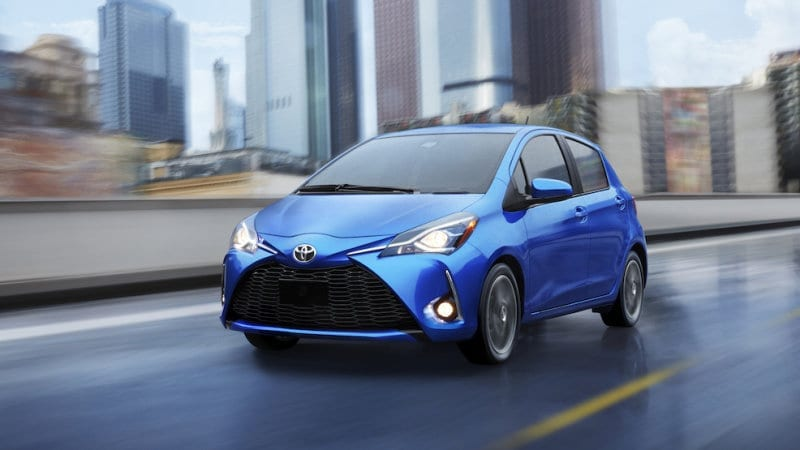 Toyota yaris - cheapest cars to insure 2019