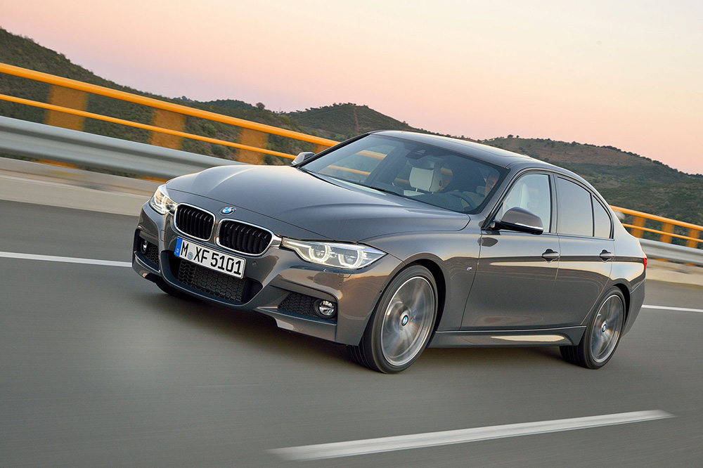 Grey BMW 3 Series