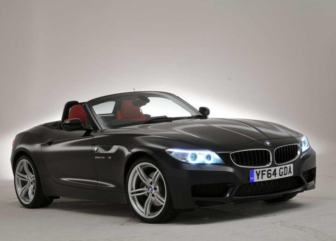 Orange BMW Z4