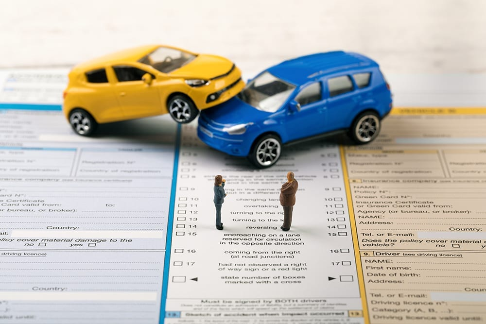 car insurance documents in emergency roadside kit