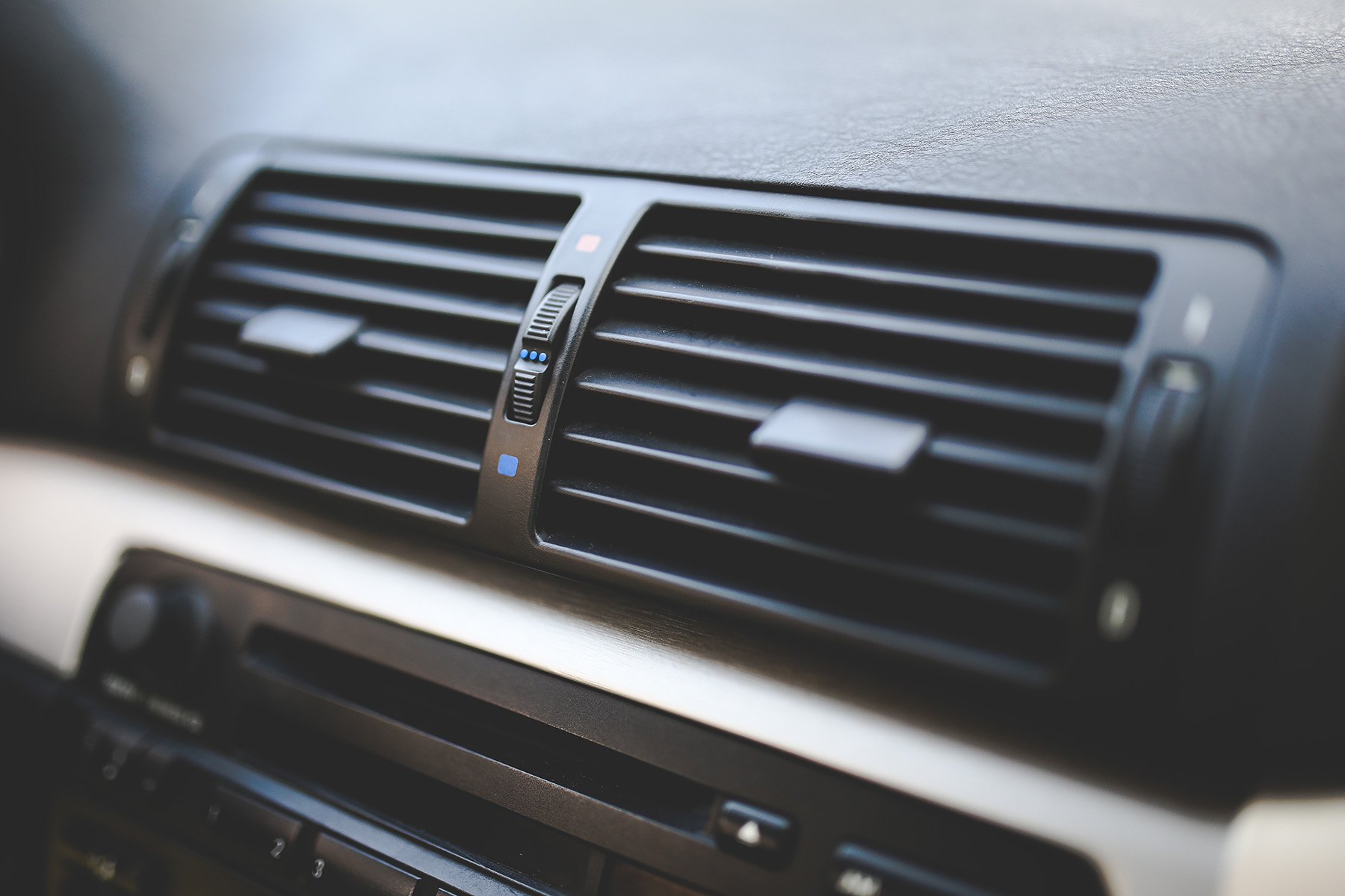 Heater inside a car