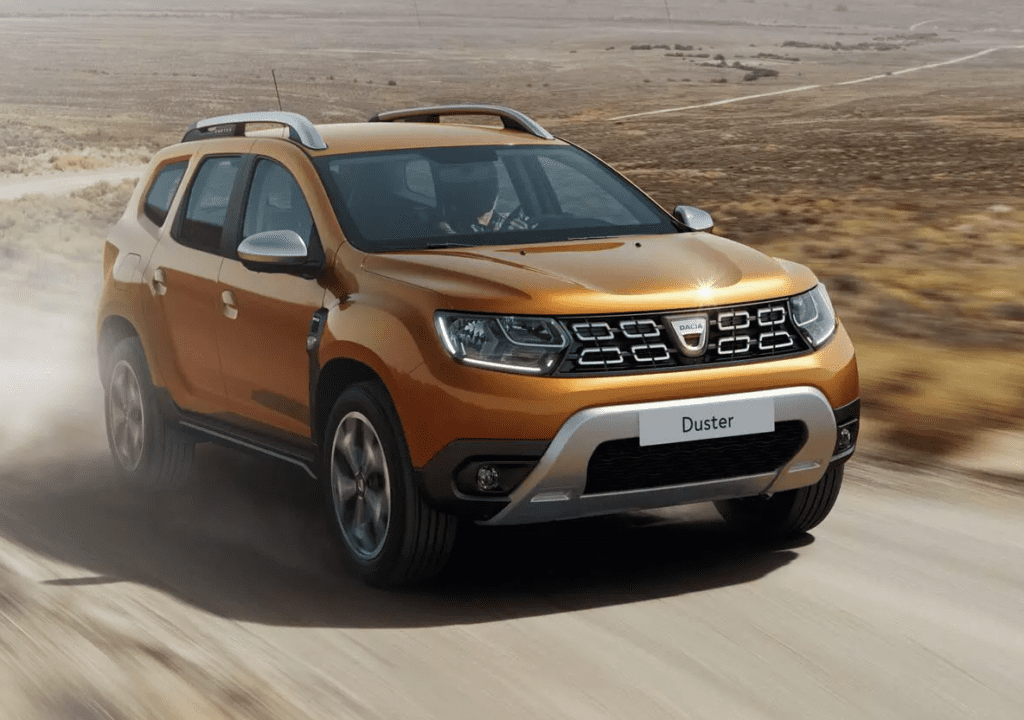 Dacia Duster best car 2020 list