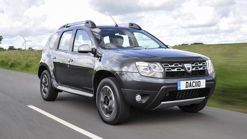 Grey Dacia Duster