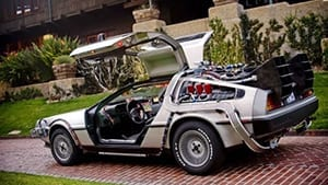 back to the future | iconic movie cars