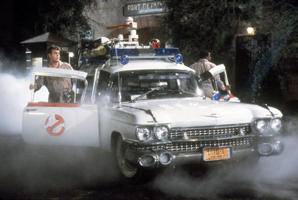 Ecto-1 Ghostbusters cadillac