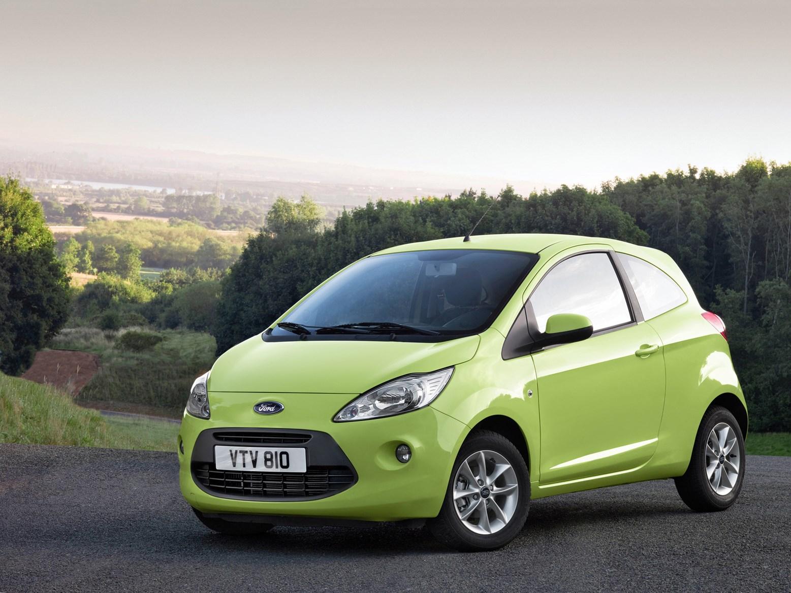 Green Ford Ka