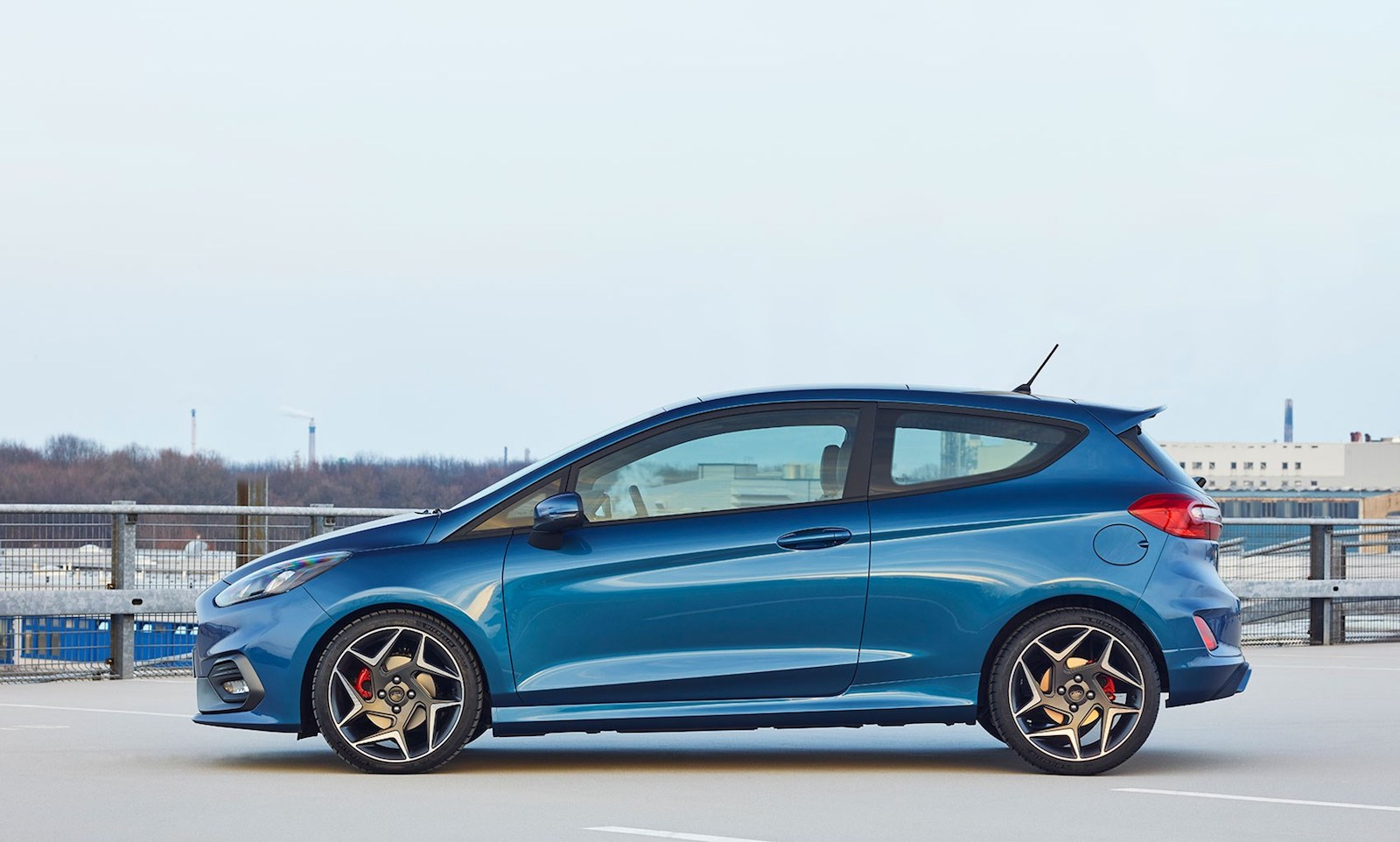 New 2018 Blue Ford Fiesta ST