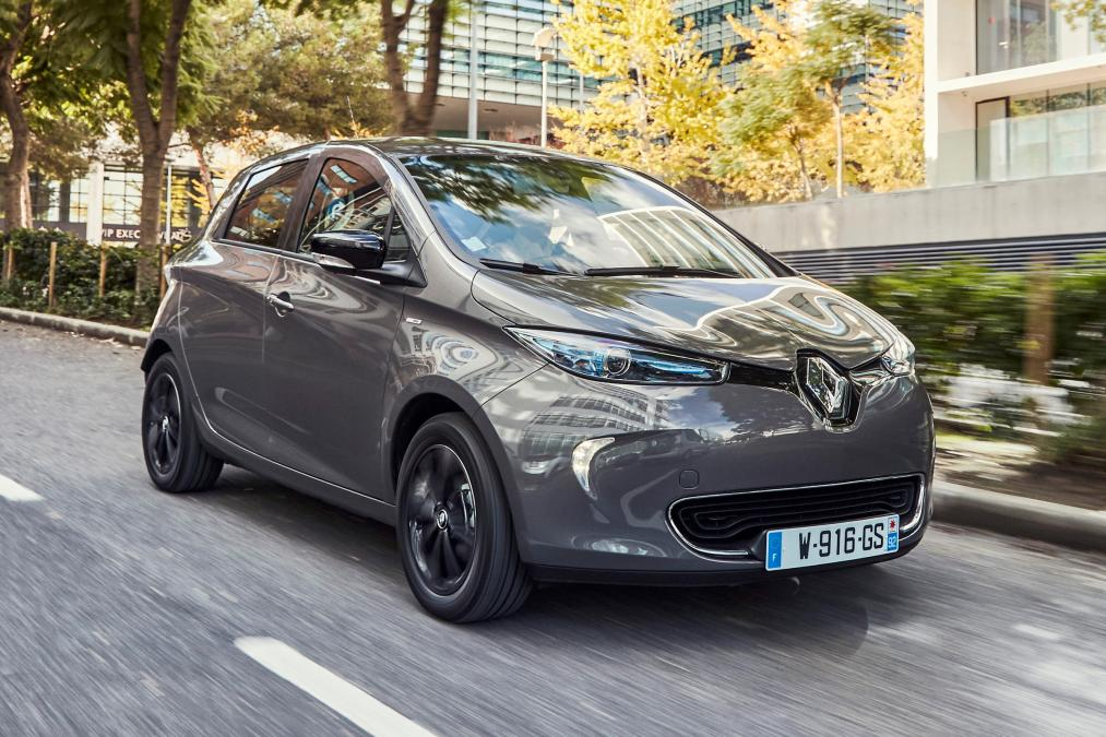 Renault Zoe I-Dynamic Nav Quick Charge in Grey