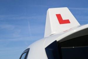 driving lesson car