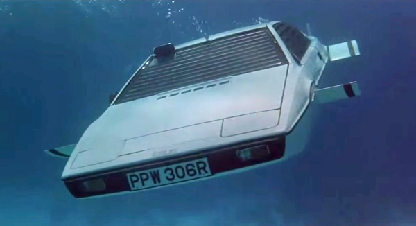 Lotus 1 James Bond Car Underwater
