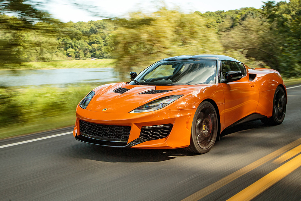 Orange Lotus Evora