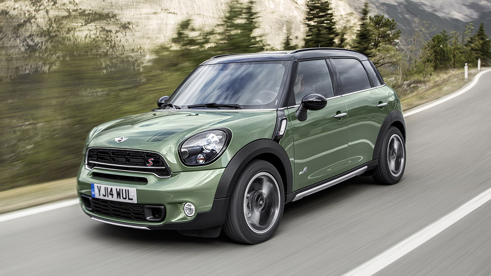 Green Mini Countryman