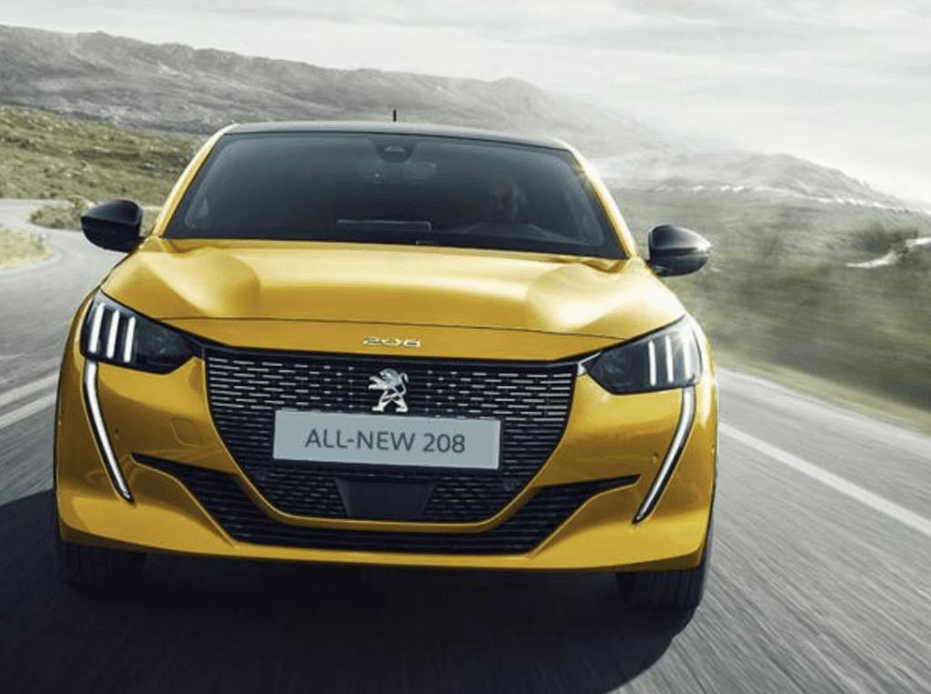 Peugeot 208 best car 2020
