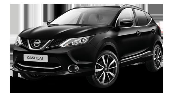 Black Nissan Qashqai
