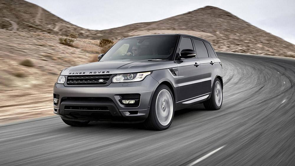 Grey Range Rover Sport