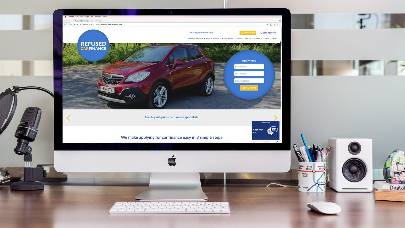 New Refused Car Finance Website