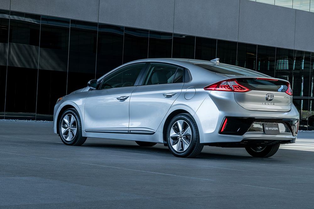 Silver Hyundai Ioniq EV