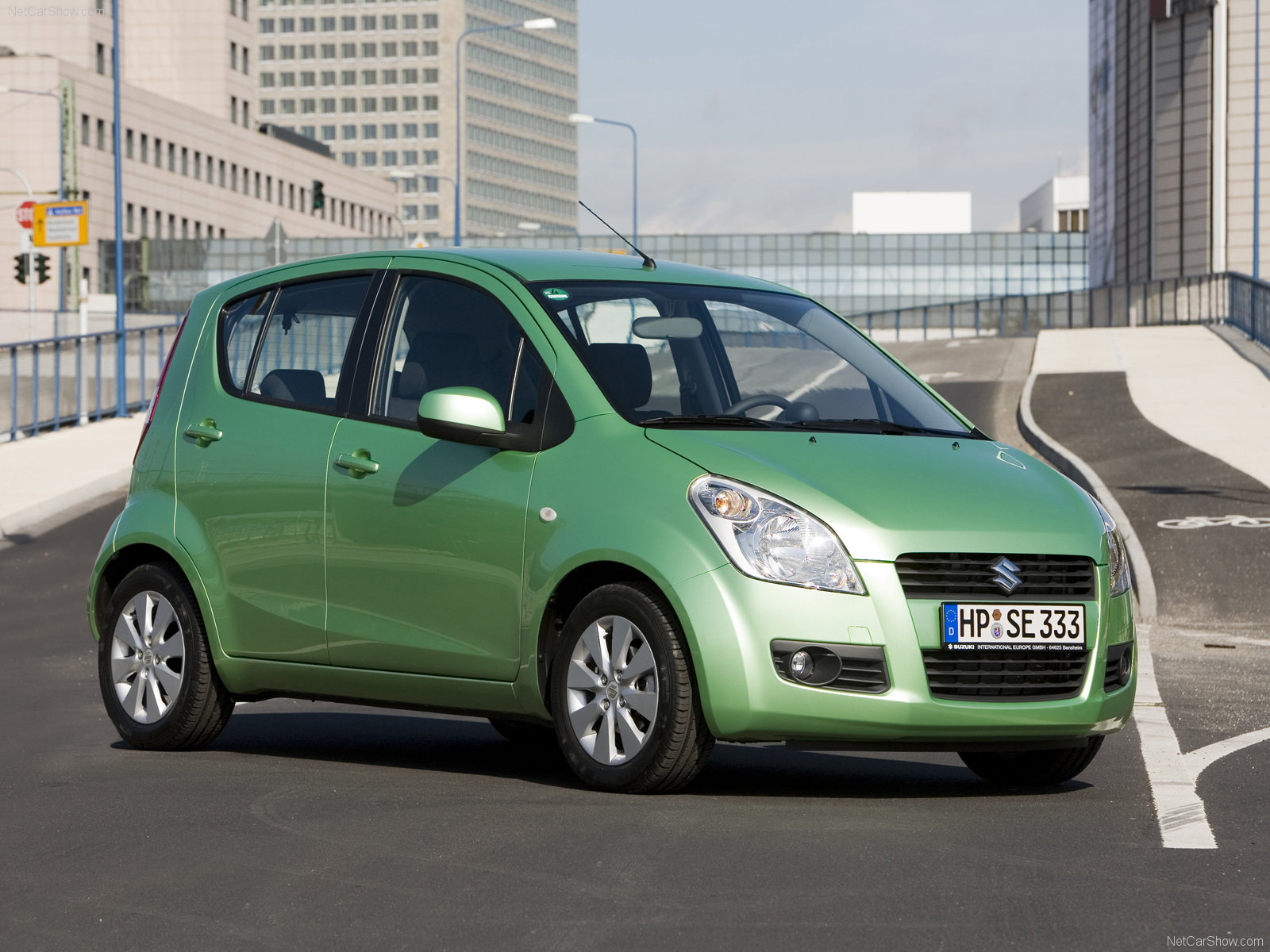Green Suzuki Splash