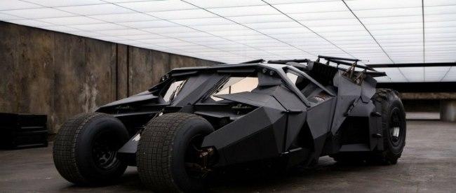 Batman's Tumbler Vehicle