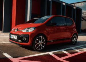 VW UP electric car
